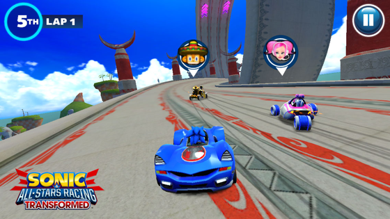 ICS Sonic and Sega All Stars Racing Transformed iOS
