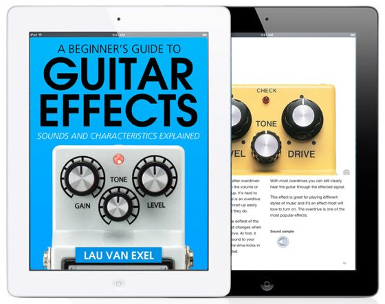 ipad boek guitar effects