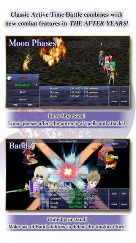 Final Fantasy IV After Years gevechten