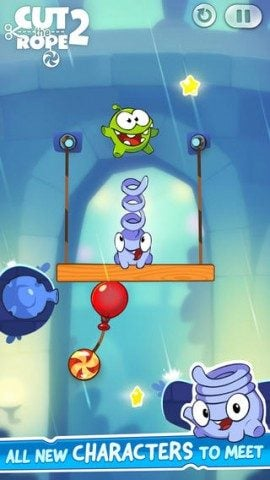 Cut the Rope 2 iPhone Toss