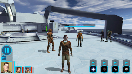Knights of the Old Republic screenshot iPhone