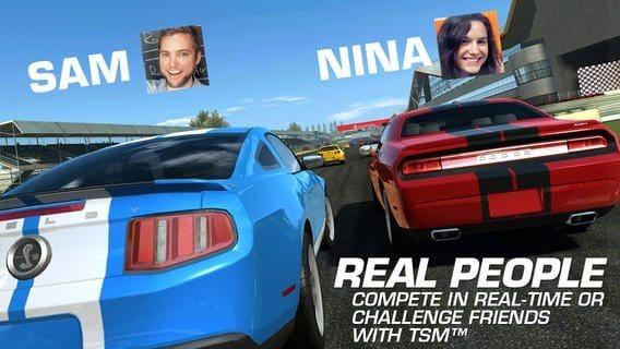 Real Racing 3 multiplayer screenshot