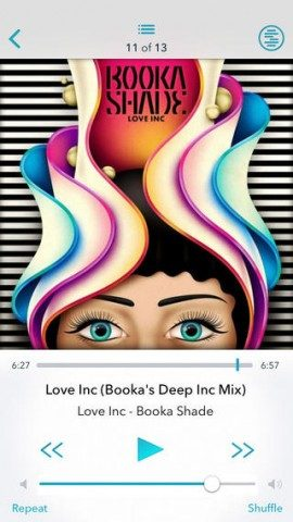 Solid Sound iPhone Booka Shade luisteren