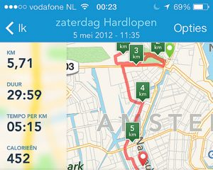 runkeeper nederlands