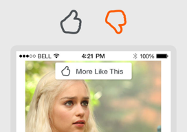 Inside.com header iPhone bericht liken