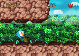 Flappy Bird-klonen Fluffy vs Flappy Birds