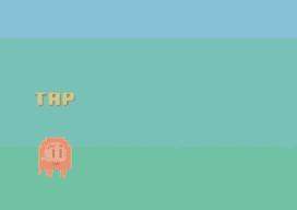 Flappy Bird-klonen Jolly Fish