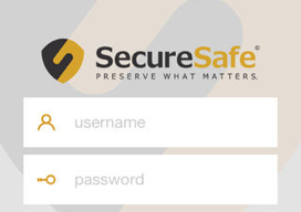 SecureSafe online kluis iPhone iPad