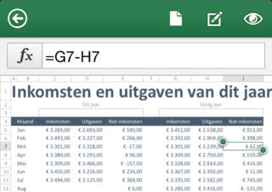 Microsoft Office iPhone Excel bewerken