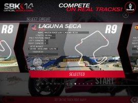SBK14 tracks Laguna Seca