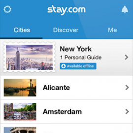 Travel Guide by Stay.com iPhone offline
